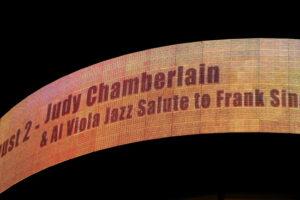 Judy Chamberlain Jazz Salute to Frank Sinatra Kodak Theater, Hollywood, California